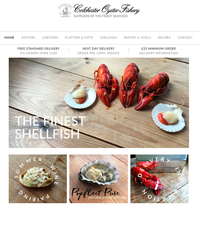 Take a look at the Colchester Oyster Fishery website