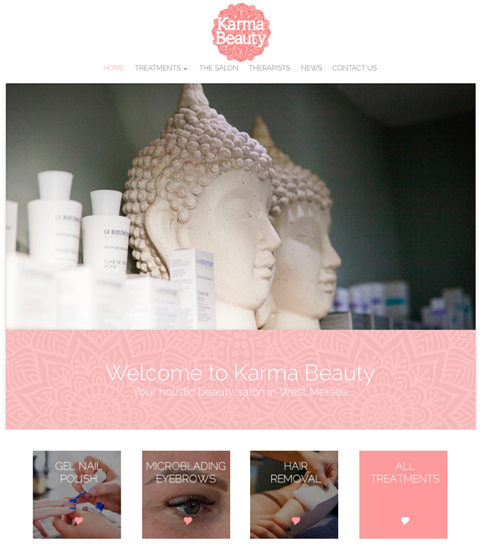 Take a look at the Karma Beauty website